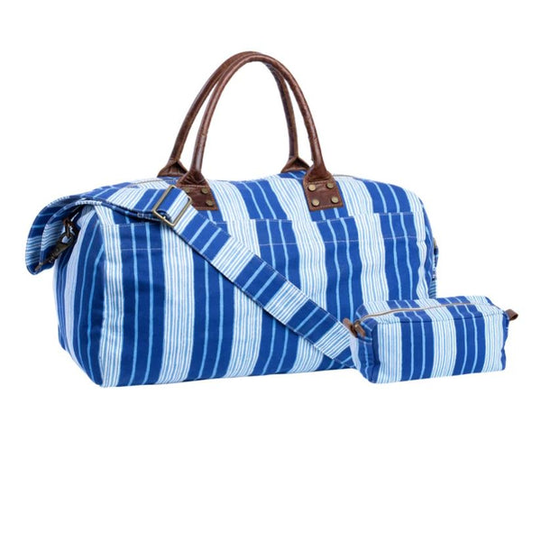 Vintage Stripe Canvas Bag Set by John Robshaw | Fig Linens