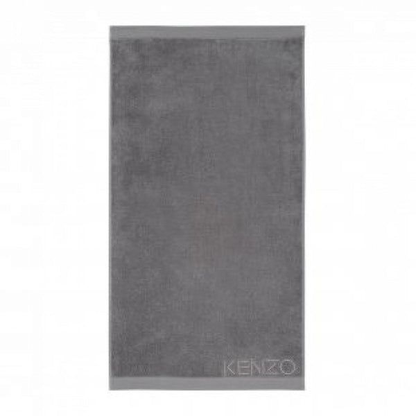 Iconic Gris Gray Guest Towels by Kenzo | Fig Linens