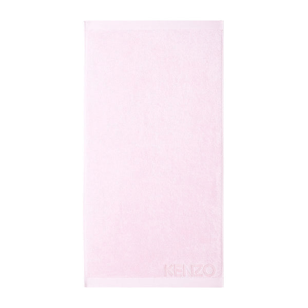 Iconic Rose Pink Bath Sheet by Kenzo | Fig Linens