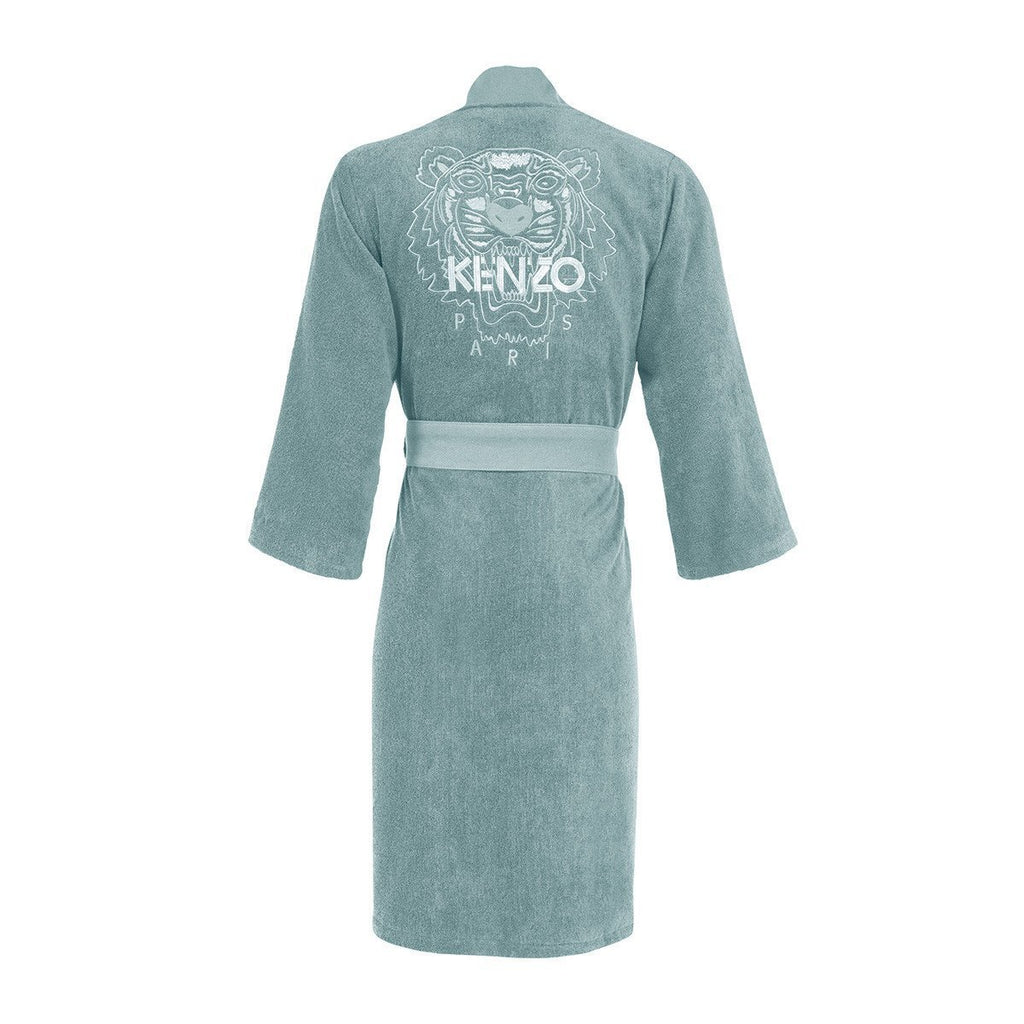 Iconic Igloo Kimono Bathrobe with Tiger logo by Kenzo | Fig Linens