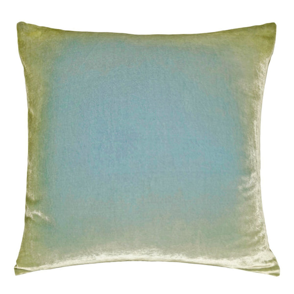 Ombre Ice Velvet Pillows by Kevin O'Brien Studio | Fig Linens