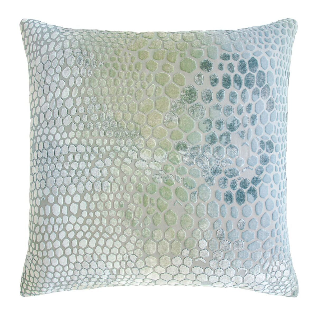 Ice Snakeskin Velvet Pillows by Kevin O'Brien Studio | Fig Linens