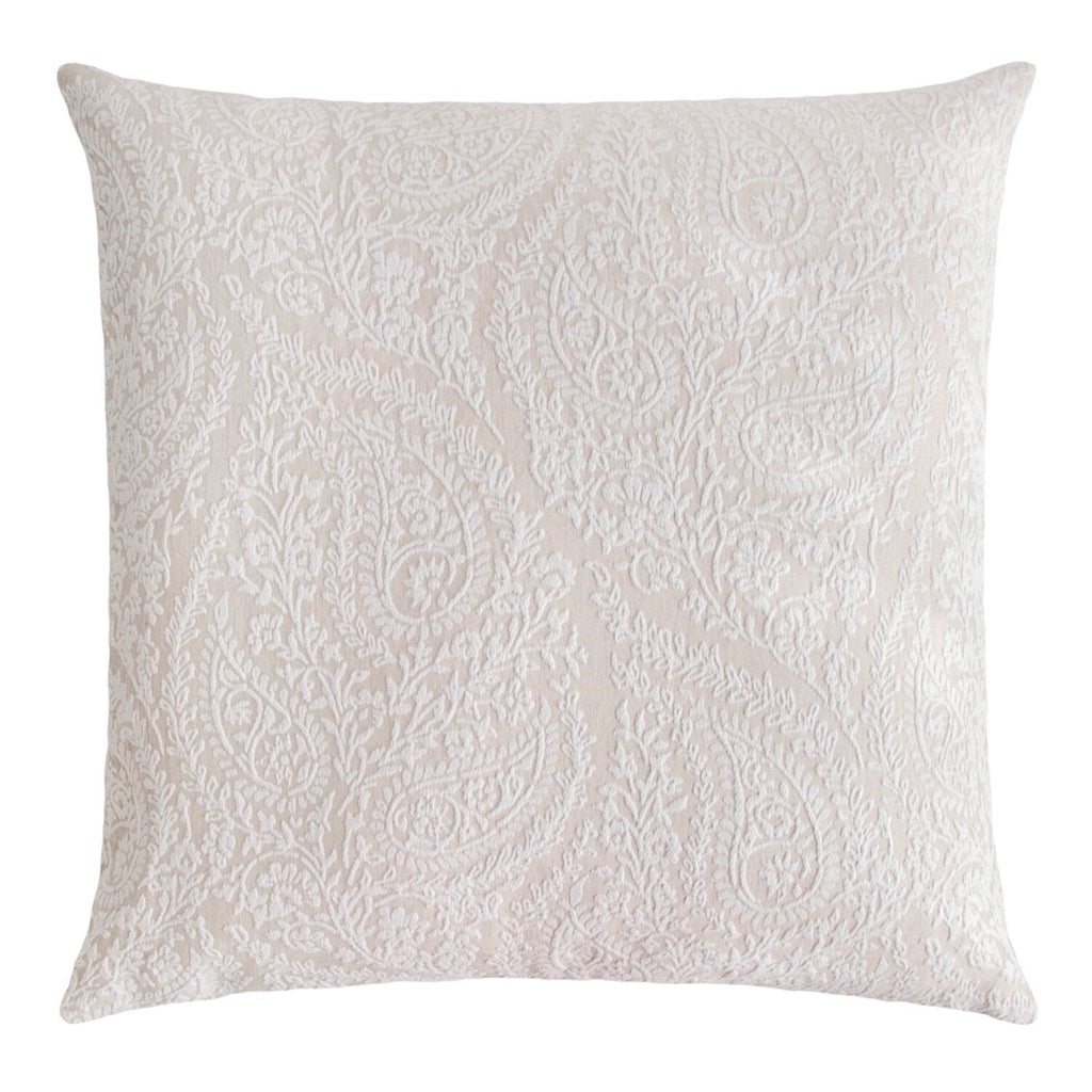 Henna Beige Euro Sham by Kevin O'Brien Studio | Fig Linens