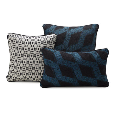 Echo Lagoon Decorative Pillows by Le Jacquard Français | Fig Linens