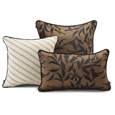 Esquisse Cumin Decorative Pillows by Le Jacquard Français | Fig Linens