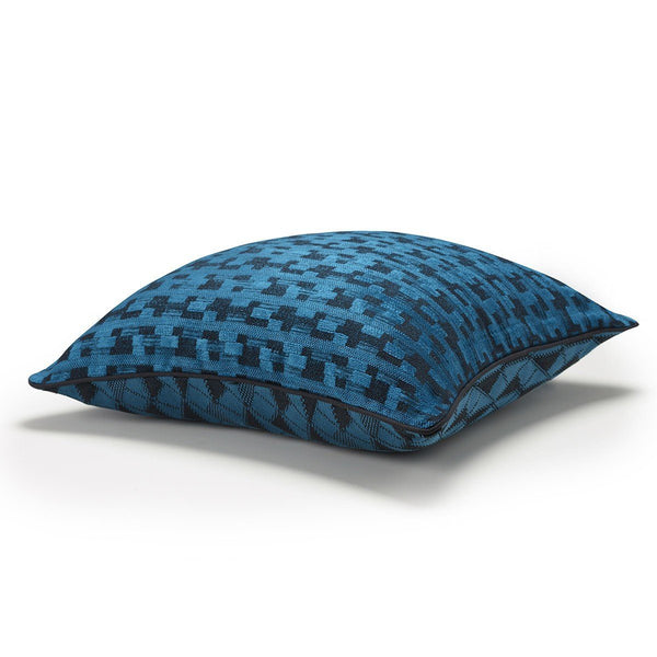 Puzzle Lagoon Decorative Throw Pillows by Le Jacquard Français | Fig Linens