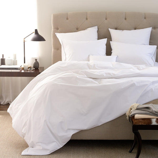 Matouk Luxury Bedding - Bryant Duvet, sheets, shams - Fig Linens
