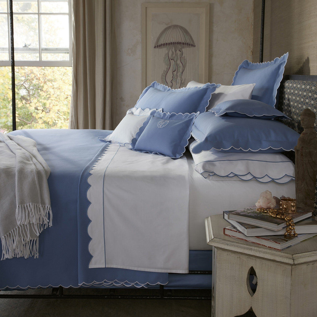 Matouk Bedding - Diamond Pique - Fig Linens