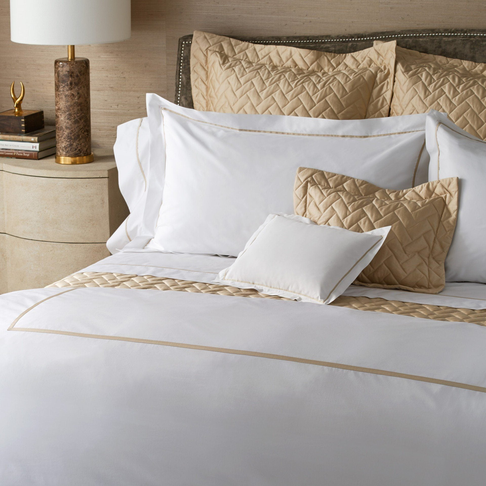 Fig Linens - Matouk Luxury Bed Linens - Gatsby