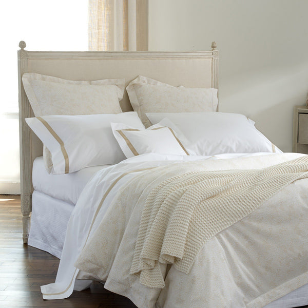 Nikita Champagne - Bedding by Matouk - Fig Linens and Home