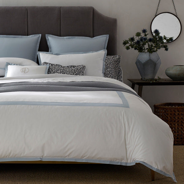 Oberlin Sky Bedding by Matouk - Fig Linens