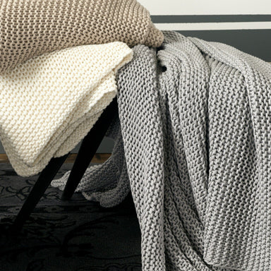 Orla Throws by Matouk - Fig Linens