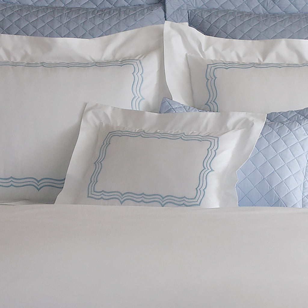 Paola Blue Bedding by Matouk