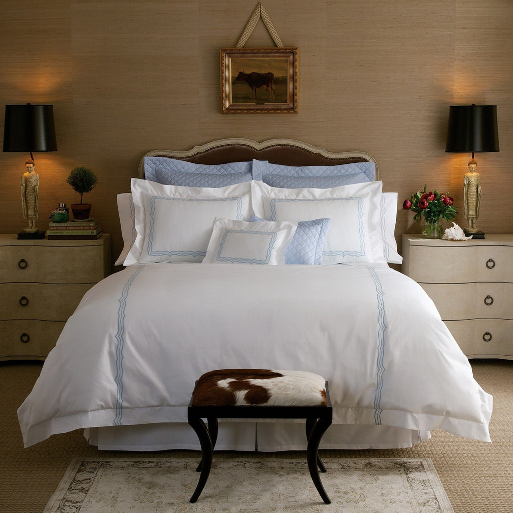 Paola Bedding by Matouk - Fig Linens