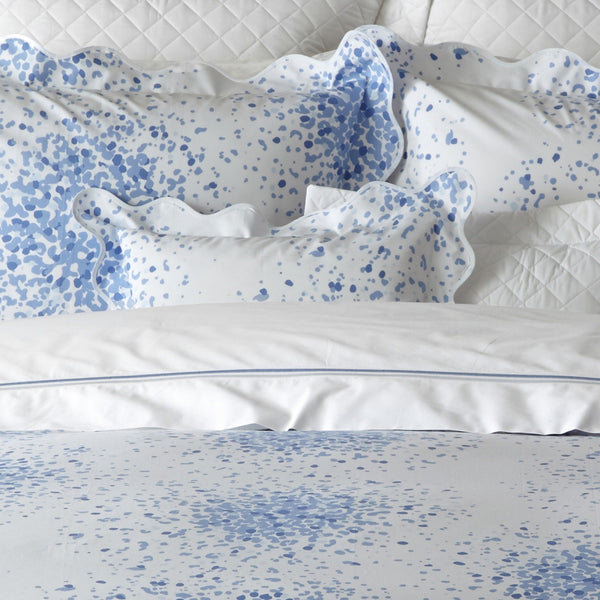 Poppy Azure Bedding by Lulu DK Matouk - Fig Linens