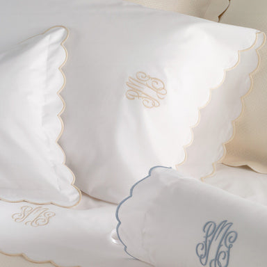 Portofino Sheets and Cases - Luxury Bedding by Matouk - Fig Linens