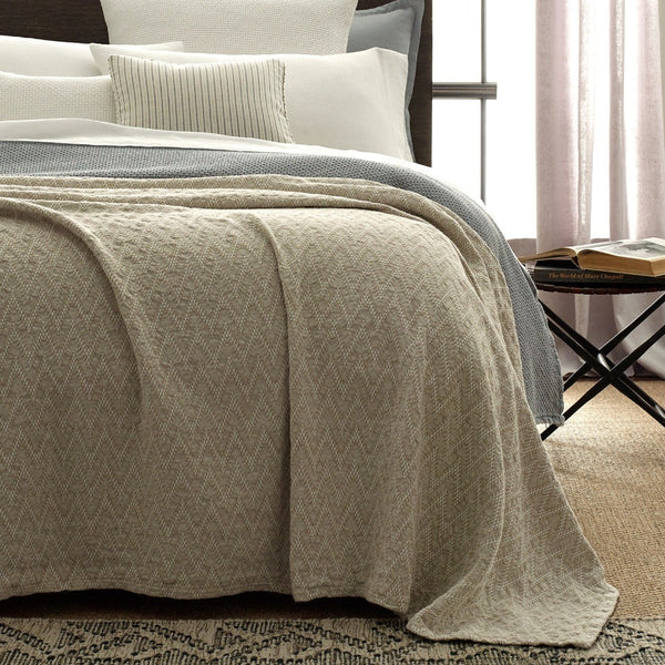 Santos Blanket by Matouk - Fig Linens and Home