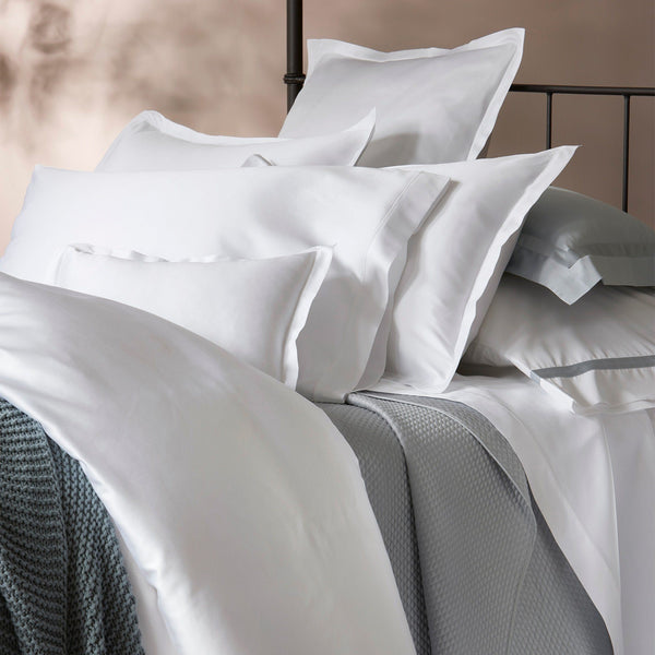 Talita Satin Stitch by Matouk - Fig Linens