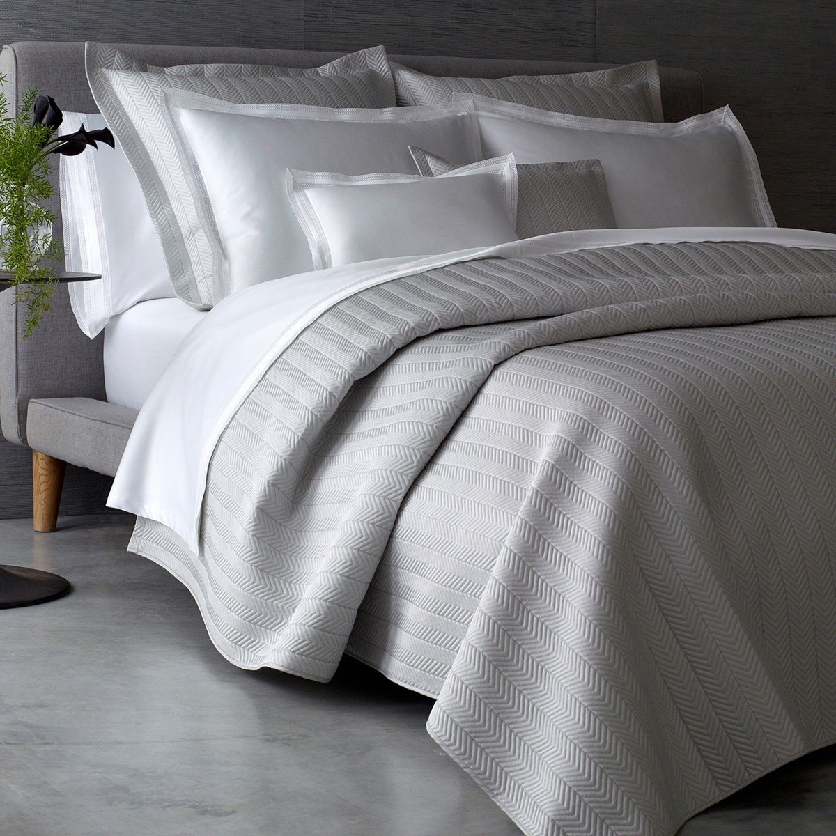 Matouk Bedding Netto Quilts Amp Shams Fig Linens And Home