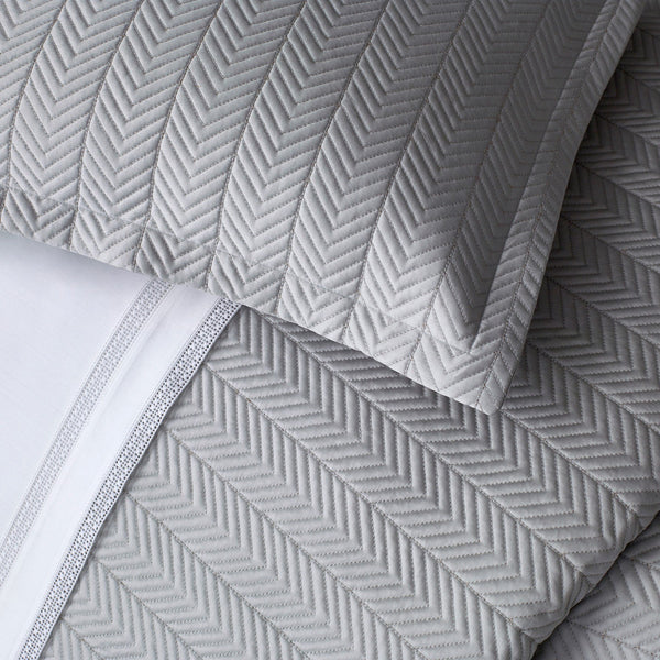 Netto Quilts and Shams by Matouk - Fig Linens