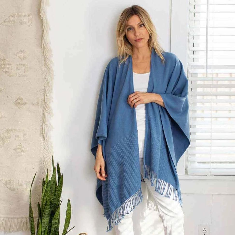 Atlantic Classic Travel Wrap by Mer Sea | Fig Linens and Home