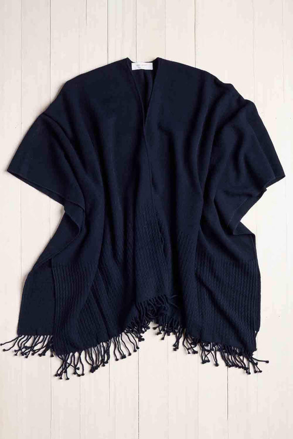 Navy Classic Travel Wrap by Mer Sea | Fig Linens and Home