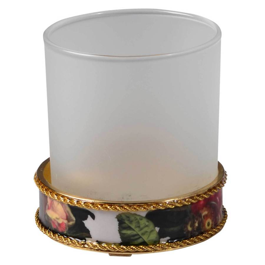 Fig Linens - Mike + Ally Bouquet Round Tumbler