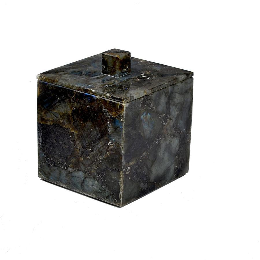 Fig Linens - Mike and Ally Labradorite Container