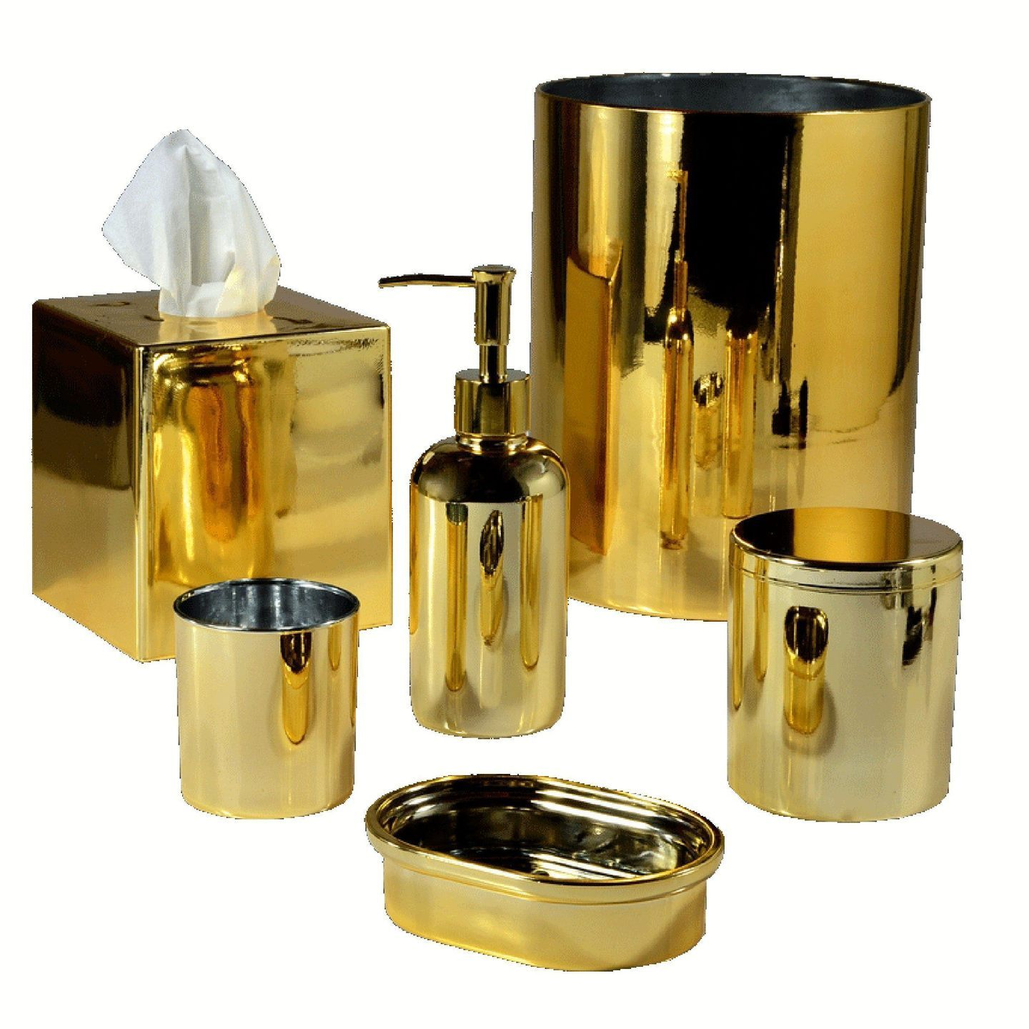 Nova Gold Bath Accessories by Mike + Ally