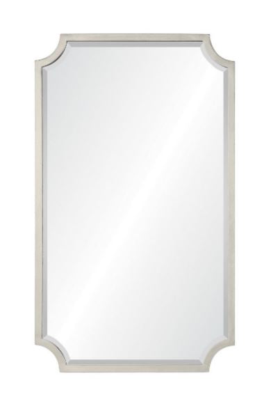 20668-asl - Antiqued Silver Leaf Wall Mirror by Mirror Image Home | Fig Linens