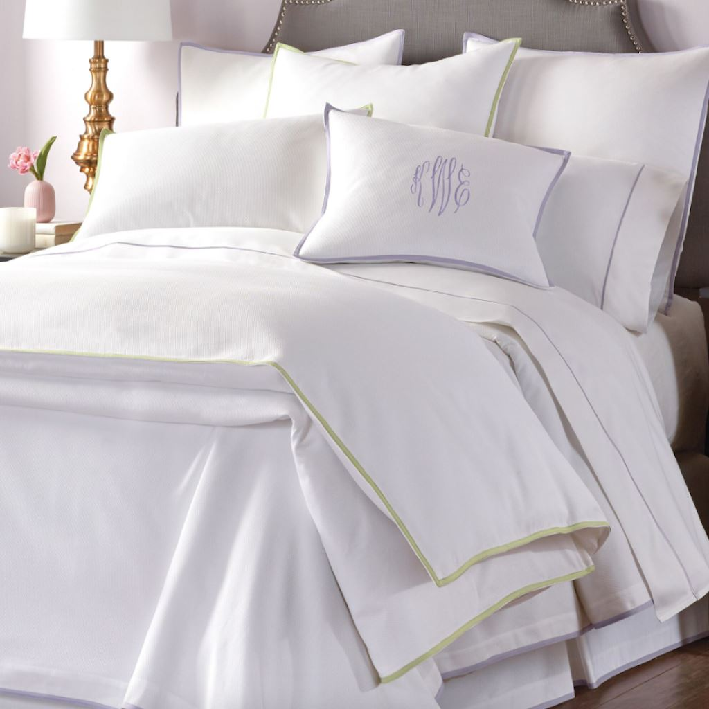 Pique II Bedding by Peacock Alley | Fig Linens