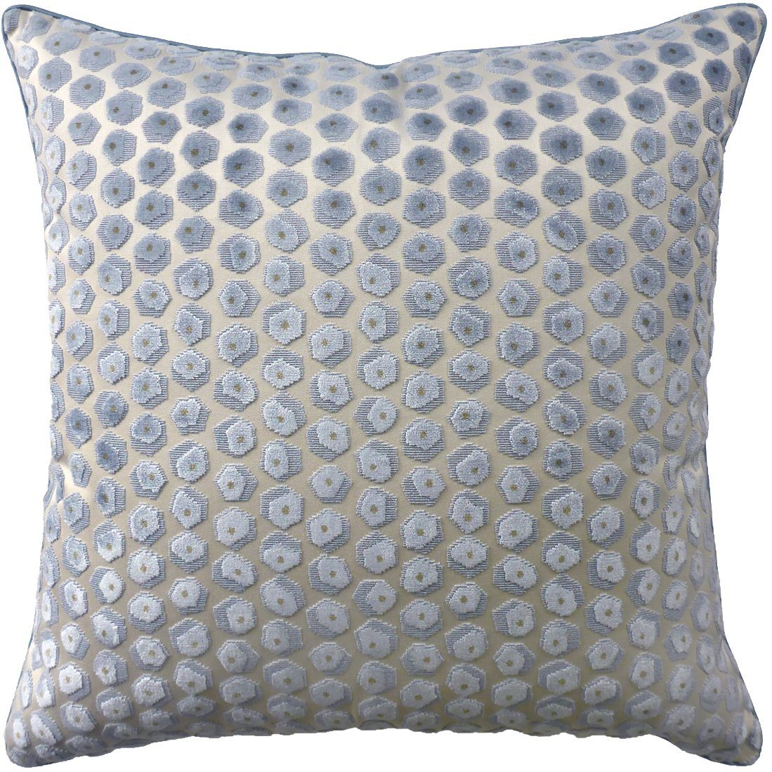 Gem Velvet Aqua Pillow by Ryan Studio | Fig Linens and Home
