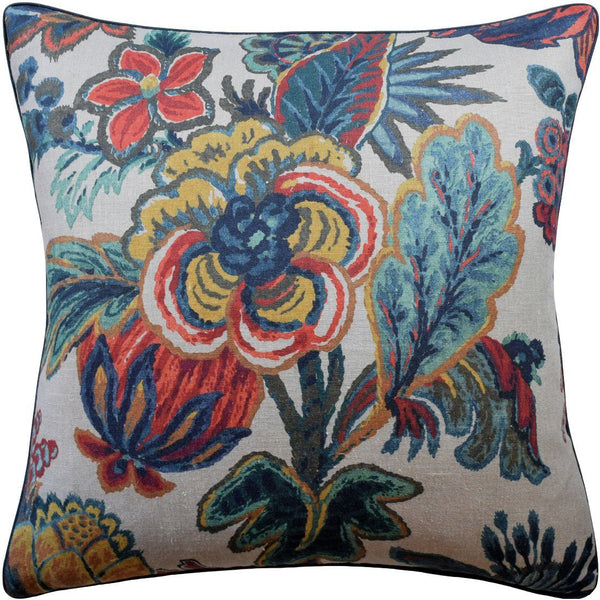 Jewel Floral Gala Pillow by Ryan Studio | Fig Linens and Home
