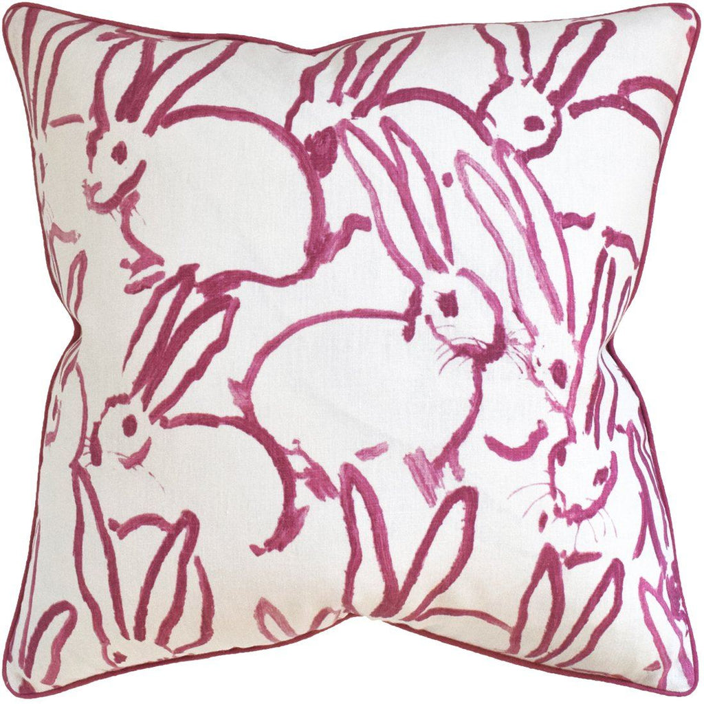Hutch Pink Pillow by Ryan Studio | Fig Linens and Home