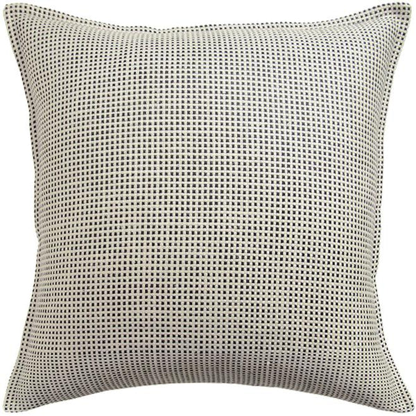 Kumano Weave Ivory & Onyx Pillow by Ryan Studio | Fig Linens