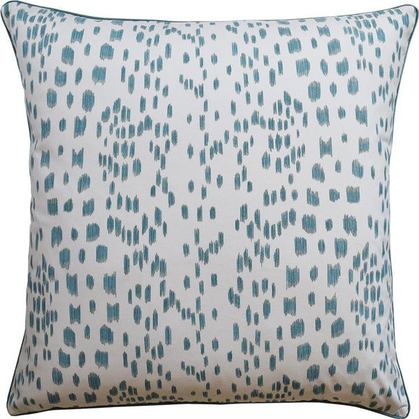 ryan studio les touches aqua pillow - fig linens