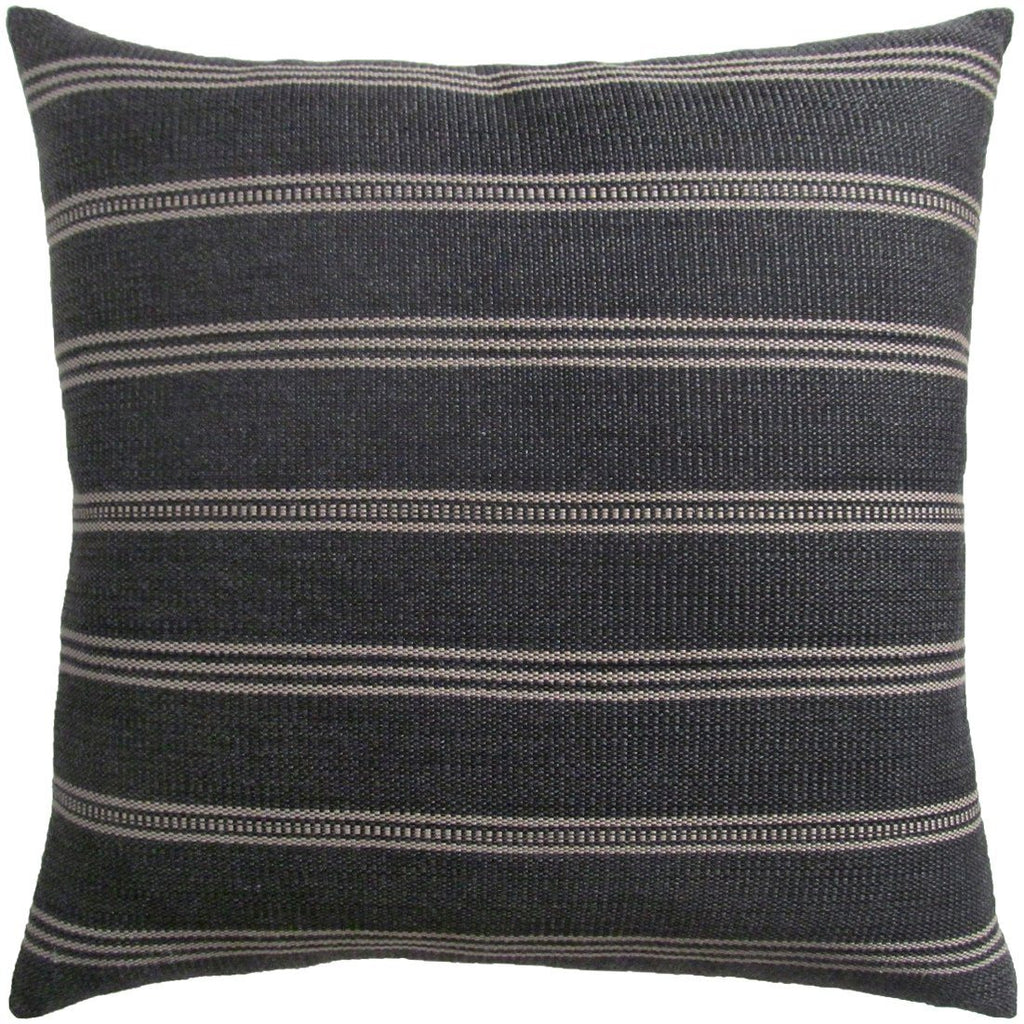 Ojai Graphite Pillow by Ryan Studio | Fig Linens and Home