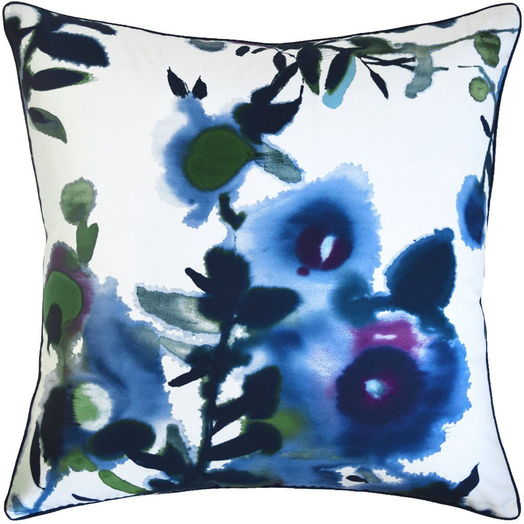 Open Spaces Pillow in Blue by Ryan Studio | Fig Linens and Home