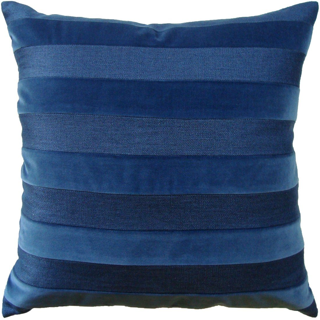 Parker Stripe Marine Pillow | Shop Ryan Studio Pillows at Fig Linens