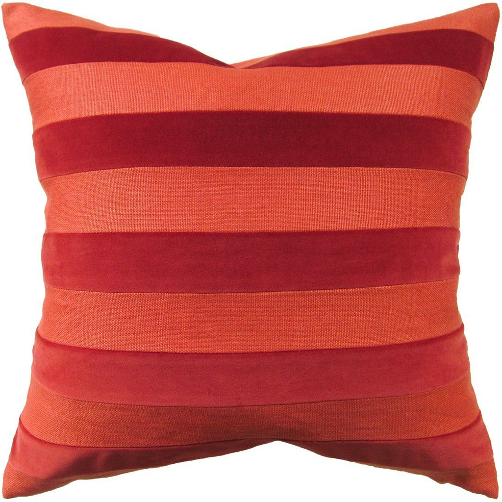 Parker Stripe Paprika Pillow | Shop Ryan Studio Pillows at Fig Linens