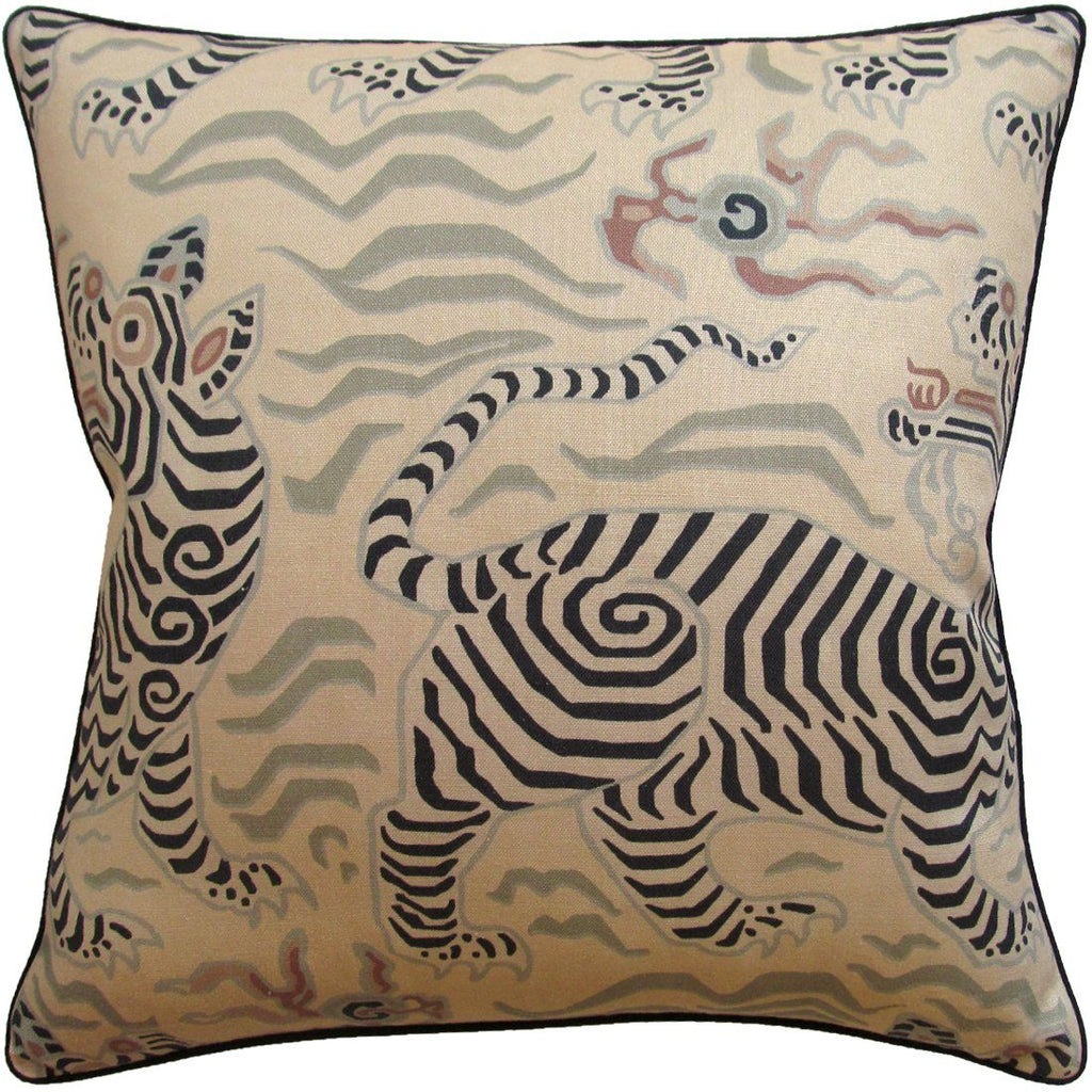 Fig Linens - Tibet Antique Decorative Pillow - Shop Ryan Studio Pillows