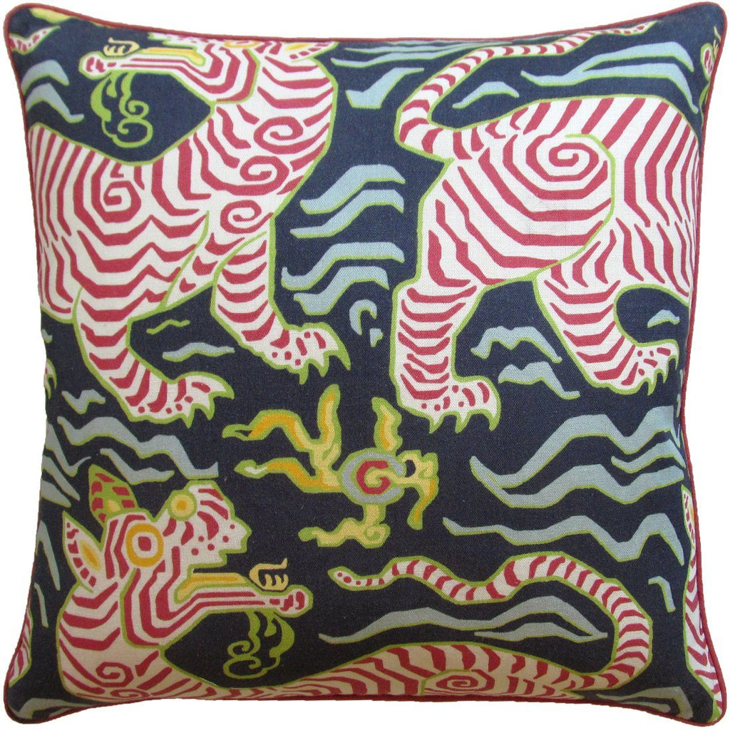 Tibet Navy Decorative Pillow - Shop Ryan Studio at Fig Linens