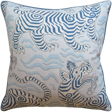 Tibet Blue Decorative Pillow | Shop Ryan Studio at Fig Linens