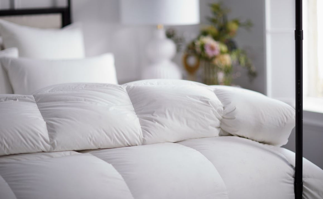 Vienna Down comforter by Scandia Home - Fig Linens