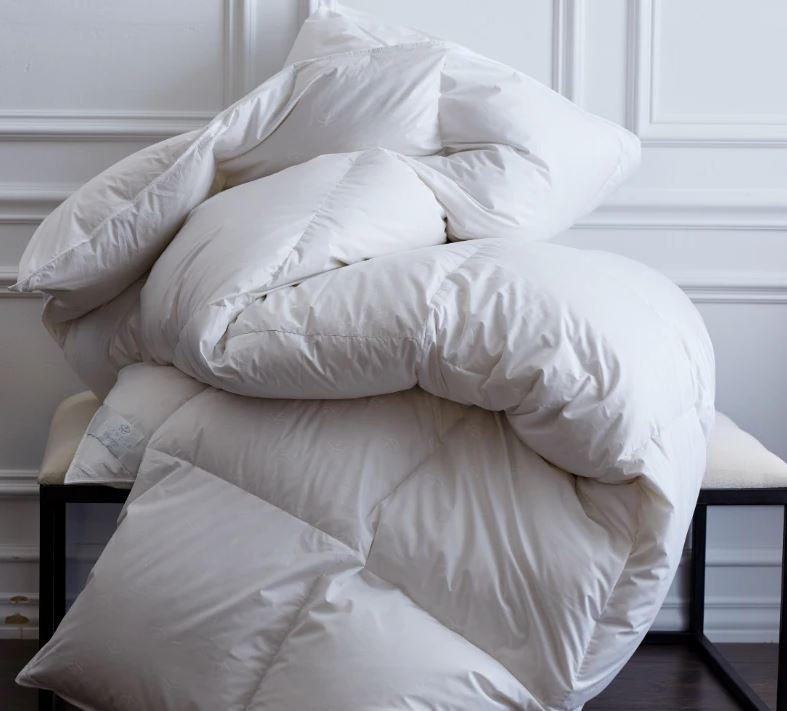scandia home - vienna down comforter - fig linens