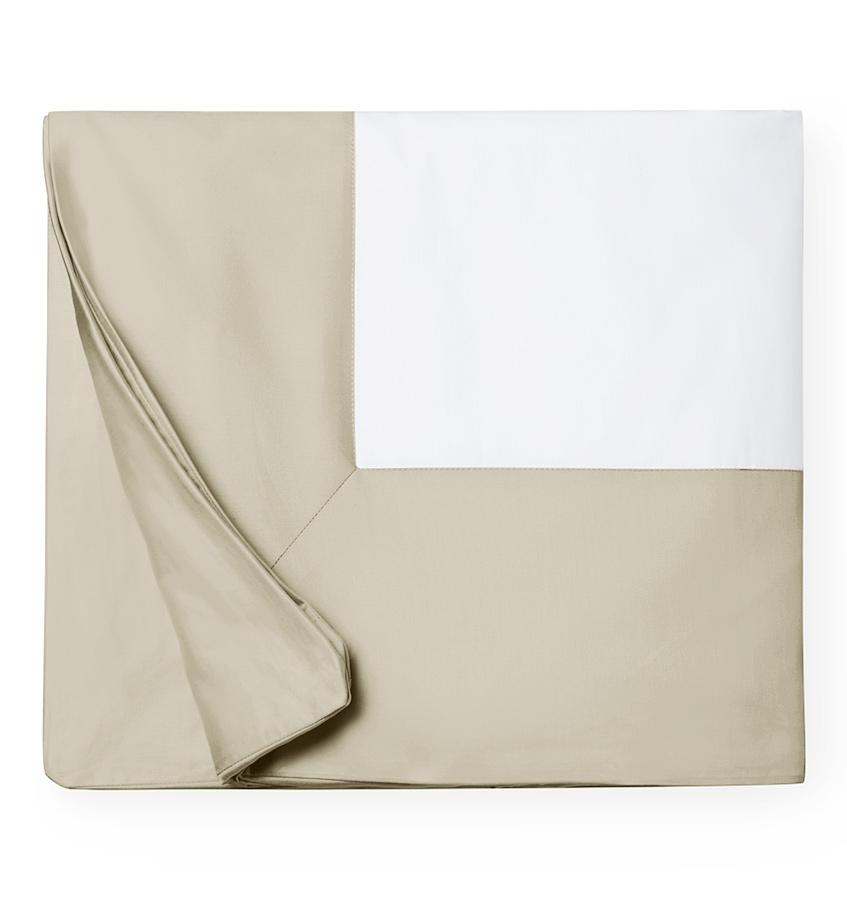 Fig Linens -  Casida Bedding by Sferra - Oat Duvet Cover