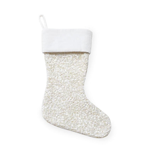 Blitzen Holiday Stocking by Sferra | Fig Linens and Home