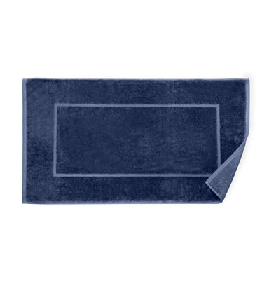 Canedo Navy Tub Mat Collection by Sferra | Fig Linens and Home