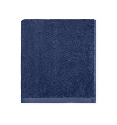 Canedo Navy Bath Towels Collection by Sferra | Fig Linens and Home
