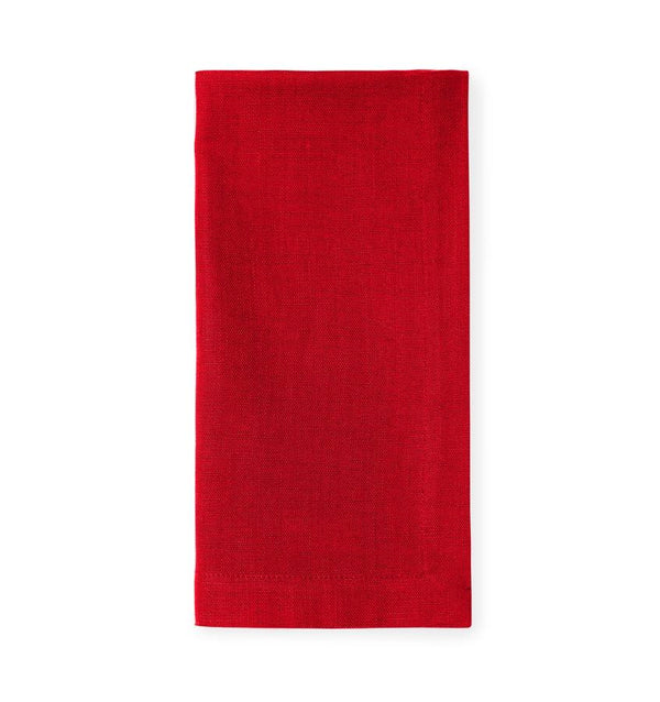 Cartlin Red Dinner Napkins by Sferra | Fig Linens and Home